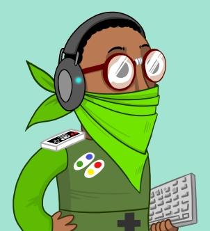 Le nerd copie